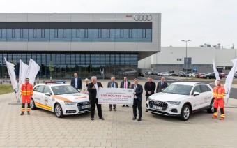 Százmillió forintot adományoz a régiónak a győri Audi
