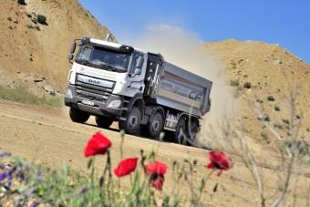 Magyar bányában nyúzzák a DAF új dömperét