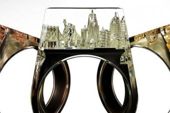 Ezekben a gyűrűkben ott rejtőzik egy egész város