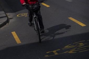 """A fővárosi kerékpársávok többsége """"káros, balesetveszélyes"""""""