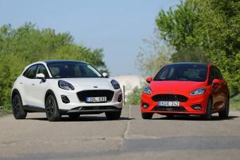Tényleg marhaság a kis szabadidő-autó? Puma vs. Fiesta