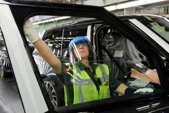 A koronavírus után újra beindult a Land Rover gyára