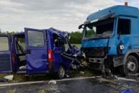 Borzalmas baleset, öt halott Veszprém megyében 1
