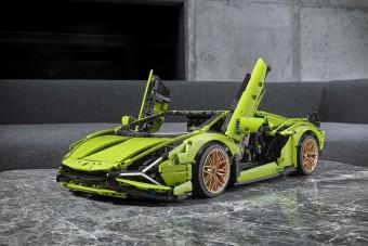 Bármikor szívesen kiraknám a Lego Technic Lamborghini Siánt