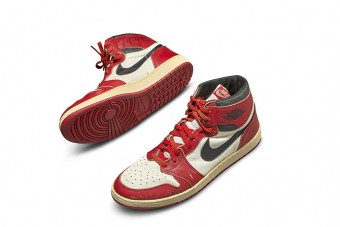 Eladó Michael Jordan legelső cipője