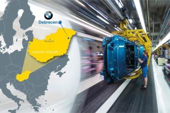 Átütemezi a debreceni gyár építését a BMW