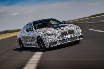 Célegyenesre fordult az új 4-es BMW