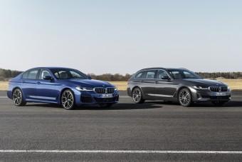 Több hibrid és több kütyü van a frissített BMW 5-ösben