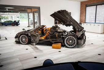 A Huayra Roadster már sokkal inkább szobor, mint autó