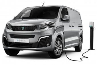 Egész nap bírja a Peugeot elektromos furgonja