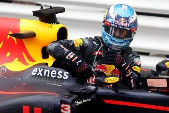 F1: Ricciardo ki akart esni Monacóban