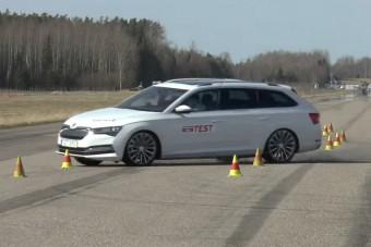 Elbuktak a Volkswagen-konszern kombijai a híres teszten