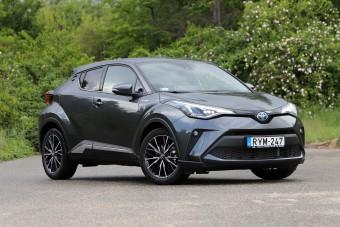 Toyota, négyliteres fogyasztással - C-HR 1,8 hibrid teszt