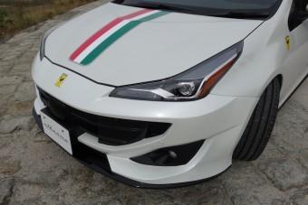 A Ferrari arcú Toyota Priusnál nincs fájdalmasabb látvány