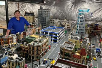 30 milliót költöttek erre az óriási LEGO-városra