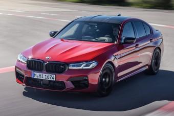 Megújult a BMW M5