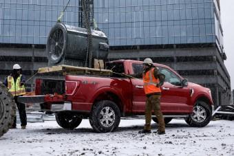 Valóságos mozgó műhelyt épített a Ford