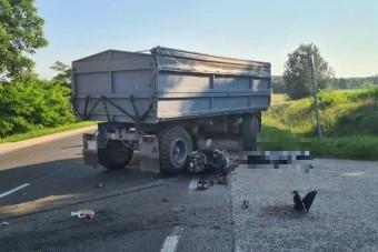 Fotókon a 6-os főúton történt halálos baleset
