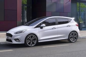 Mild hibrid hajtásláncot kapott a Ford Fiesta