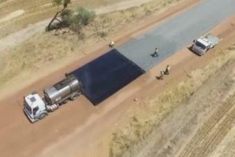 Fájdalmasan lenyűgöző ez a villámgyors ausztrál útépítés