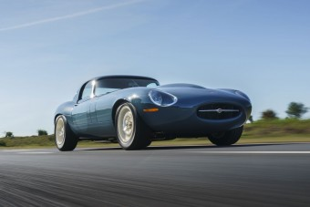 1017 kilónyi tökéletesre csiszolt Jaguar az Eagle E-Type Lightweight