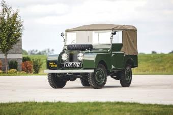 Kínosan makulátlan ez az 1950-es Land Rover