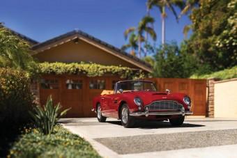 Elképesztően gyönyörű az 1965-ös kabrió Aston Martin