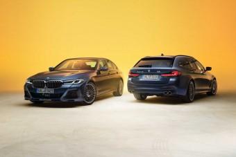 300 felett száguldhat a család az Alpina 5-ös BMW-jében