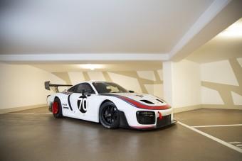 Múltidéző Porsche pályagép, rengetegnél is több pénzért