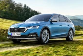 Visszatér a Škoda földút-kombija