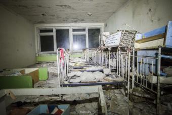 Hátborzongató a felújított óvoda Csernobilban