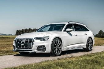 408 lóerős Audi luxuskombi, könnyű terepre