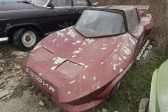 Elhagyott egyedi sportkocsikra bukkantak Bulgáriában