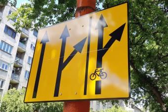 Kellenek még az ideiglenes biciklisávok?