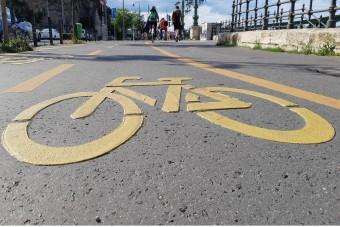 Itt lesz új biciklisáv Budapesten, így oldják meg