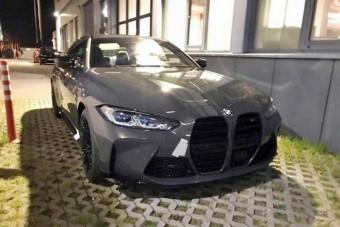 Leplezetlenül kapták le az M4-es BMW-t