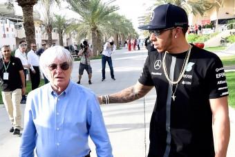 F1: Ecclestone kiakadt Hamilton büntetésén