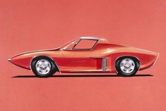 Ilyen lett volna a 60-as évek polgári Ford GT40-ese