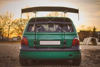 Valószínűleg ez Magyarország legfeltűnőbb Renault Twingója