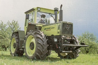 30 éves a Mercedes-Benz utolsó traktorja
