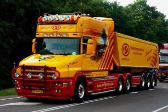 Scania T144 Torpedo: a világ egyik legszebb nyergese