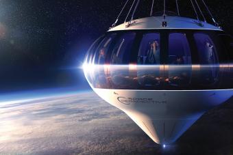 Egy ballon viheti a gazdag turistákat az űr peremére