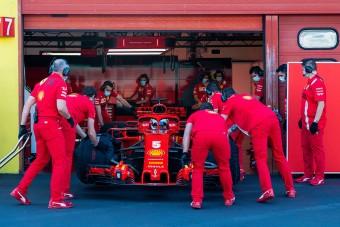 F1: Teher a maszk, lazul a tesztelés
