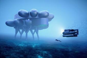 Futurisztikus kutatóállomás épül a tenger mélyén