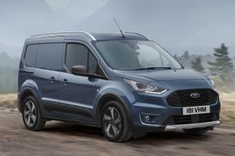 Videón a Ford életmód-furgonjai