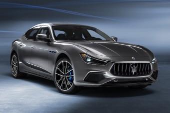 Áramot vezettek a Maserati kis szedánjába