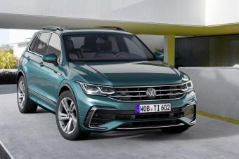 Megújult a Volkswagen Tiguan (új részletekkel!)