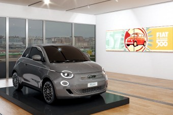 Múzeumot emeltek a Fiat 500-asnak