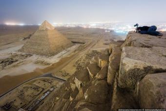 Így még sosem láttad az egyiptomi piramisokat