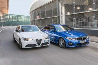 Nem hagyja magát az Alfa, újra kiáll a BMW ellen